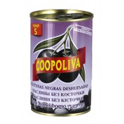 Coopoliva Olives Black Pitted S Size