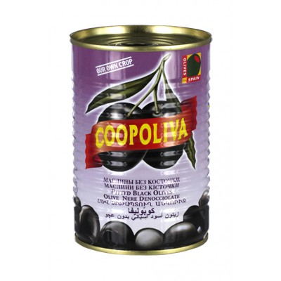 Coopoliva Olives Black Pitted A300